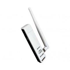 WIFI USB TP-LINK TL-WN722N COM ANTENA REMOVÍVEL - 150MBPS - OEM