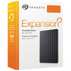 HD SEAGATE EXTERNO PORTATIL EXPANSION USB 3.0 3TB PRETO STEA3000400 2.5 POLEGADAS