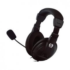 FONE DE OUVIDO C/ MICROFONE HEADSET CONFORT PRETO MI-2260ARC C3 TECH
