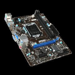 PLACA MAE P/ INTEL 1150 MSI H81M-E33 HDMI/VGA/SOM/REDE/LAN/USB3.0