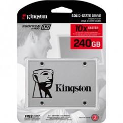 "HD SSD 240GB SATA3 2.5"" KINGSTON SUV400S37A/240G SATA  3.0 (6 GB/S) LEITURA 550 E GRAVACAO 500MB/S"