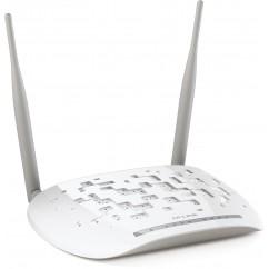 ADSL c/ Router WIFI TP-LINK MODEM ADSL TD-W8961ND 300Mb/s 2 Antenas - OEM