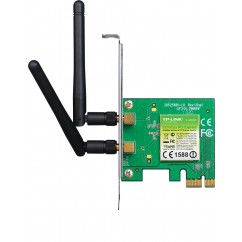 PLACA WIFI PCI-EXPRESS TP-LINK TL-WN881N 300MB/S - 2 ANTENAS